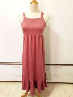🚚 Maxi Tie Back Dress