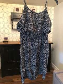 Women's forever 21 print dress