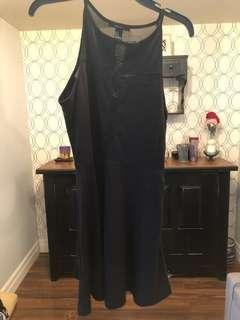 Like new forever 21 fit and flare black dress