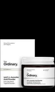 🚚 BNIB 100% L-Ascorbic Acid Powder  20g  THE ORDINARY DECIEM