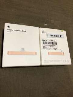 iPhone lightning dock (sealed, Gold)