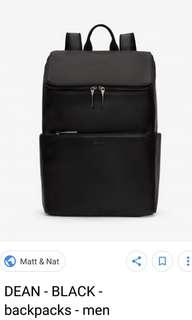 LOOKING FOR matt & nat dean backpack