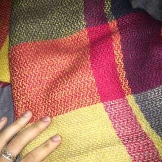 Just Cozy Blanket Plaid Scarf