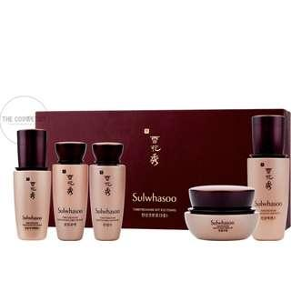 FREE SHIPPING SULWHASOO TIME TREASURE II KIT 5 ITEMS