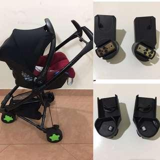 Adapter maxi cosi infant carrier for  Stroller Quinny Zapp
