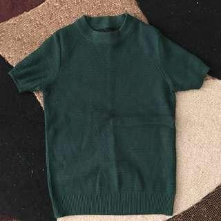 Korea blouse/round neck