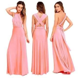 Infinity Gown Light Oldrose Sale Rent