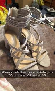Glassons heels new