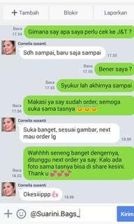 Real testi lovely customer