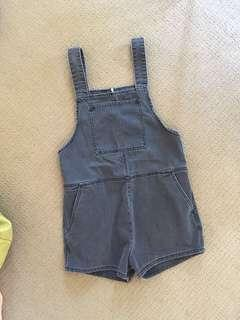Assembly Label denim overall