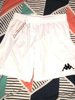 BNWT Authentic white kappa shorts