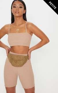 Pretty little thing nude crop top