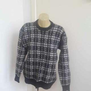 Manopoly Brand Coarse Knit Jumper Size M