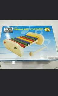 BNIB Blue Ribbon Tubular Bar Xylophone Wooden and metal Material
