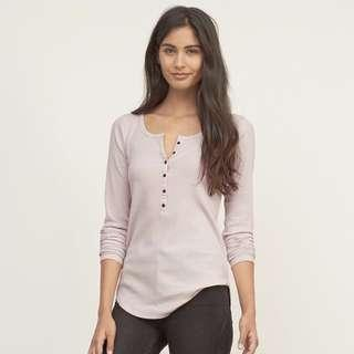 AUTHENTIC A&F Medium Grey Long Sleeves Blouse