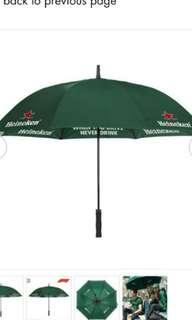 Outdoor Umbrella Formula One heineken umbrella https://it.heinekenstore.com/en/formula-1-2018-umbrella.html , dimensions 130cm meet up at punggol
