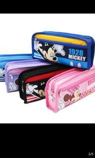 Brand new Disney Mickey and Minnie Pencil Case with Zip