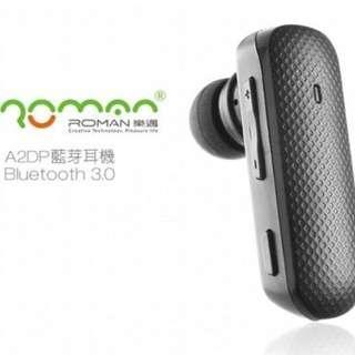 🚚 Roman 505 Bluetooth Headset (Twin Pairing + Music Playable)