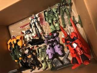 LOT HG Gundam Loose