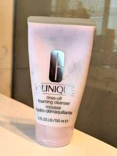 CLINIQUE foam cleanser