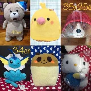 Toys clearance at $10 each!! Original and shipped from toreba japan