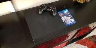Very Seldomly Used Sony PlayStation 4 PS4 Pro Fifa18 Edition For Sale
