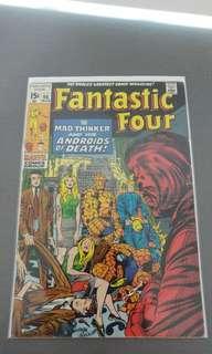 Fantastic Four # 96 silver age comic