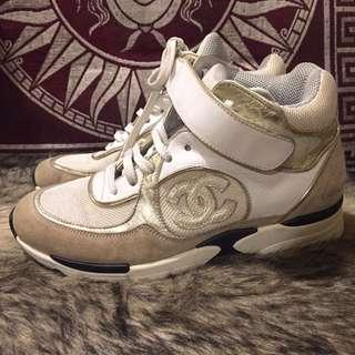 Vintage Chanel Trainers Rubber Shoes