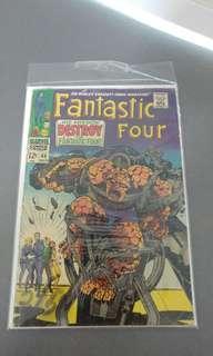 FANTASTIC four #68 silver age comic