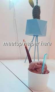Meetup helper here!!