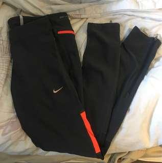 Nike full-length grey tights