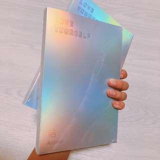 🌈[wts / bts] love yourself: answer instock sealed album