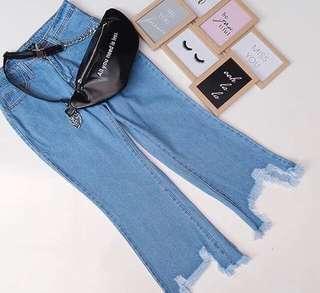 #MauiPhoneX celana jeans tebal