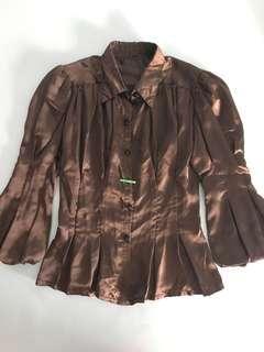 Satin Victorian Shirt