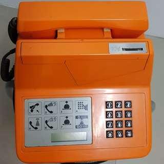 Vintage Singapore Public Telephone