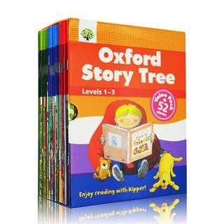 💥NEW- Oxford Story Tree Set New Edition Level 1,2,3 Value pack 52 books - Children story books