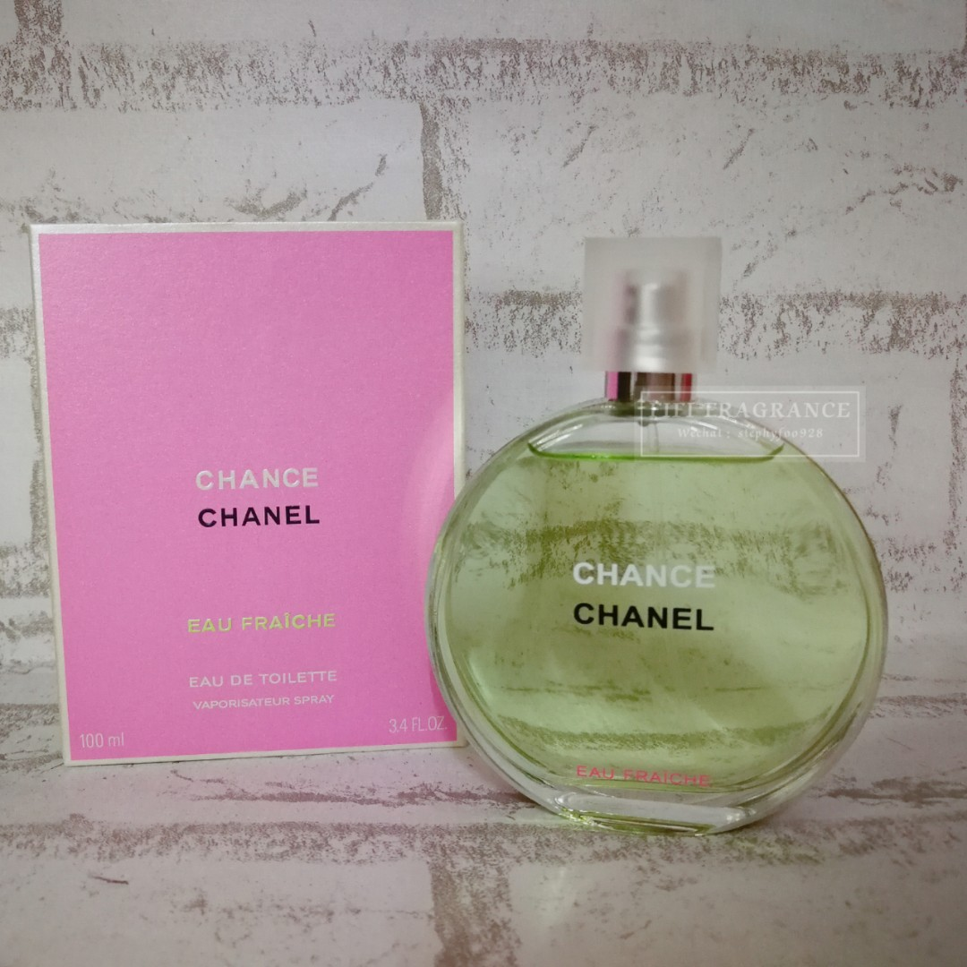 b02f2989d9e 100% AUTHENTIC Chanel Chance Eau frachie 100ml