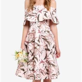 ZALORA Bridesmaid offshoulder dress #under90