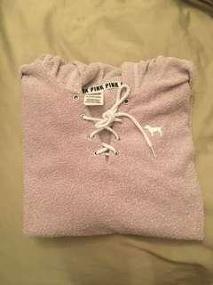 PINK hoodie size xs