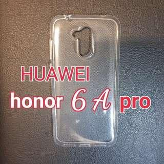 Huawei honor 6A pro Soft Silicone Transparent Phone Case