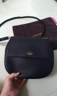 Kate spade black sling handbag