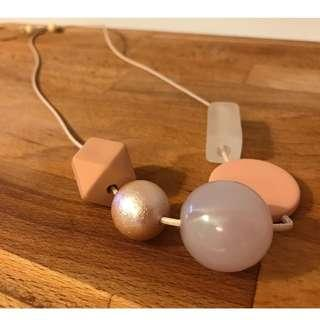 Pastel Geometric Necklace