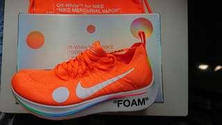 Nike off-white zoom fly mercurial ow react undercover