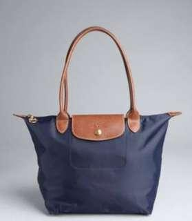 Longchamp Authentic Le Pliage Navy Blue