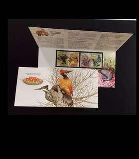 Malaysia 2002 Tropical Birds Presentation Pack Mint