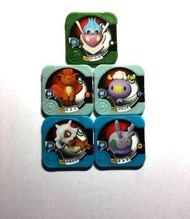 🚚 Pokemon Tretta Chips - Playable at outlet @ United Square, Novena. Brand new.