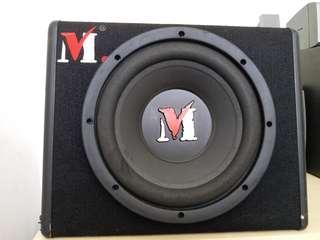 """Car Sound System SUBWOOFER with Amplifier 12"""" Speaker"""