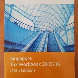 Singapore Tax workbook 2015/16