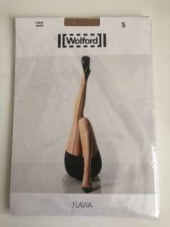 Wolford 膚色絲襪 size S