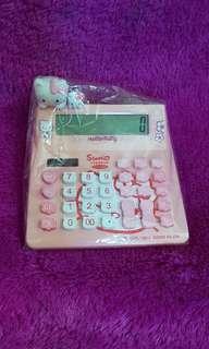 Kalkulator Hello Kitty Preloved